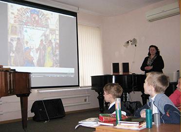 Песенные жанры в русском фольклоре